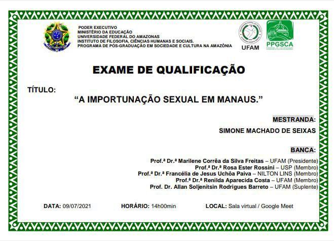 Exame de Qualificação - Simone Seixas
