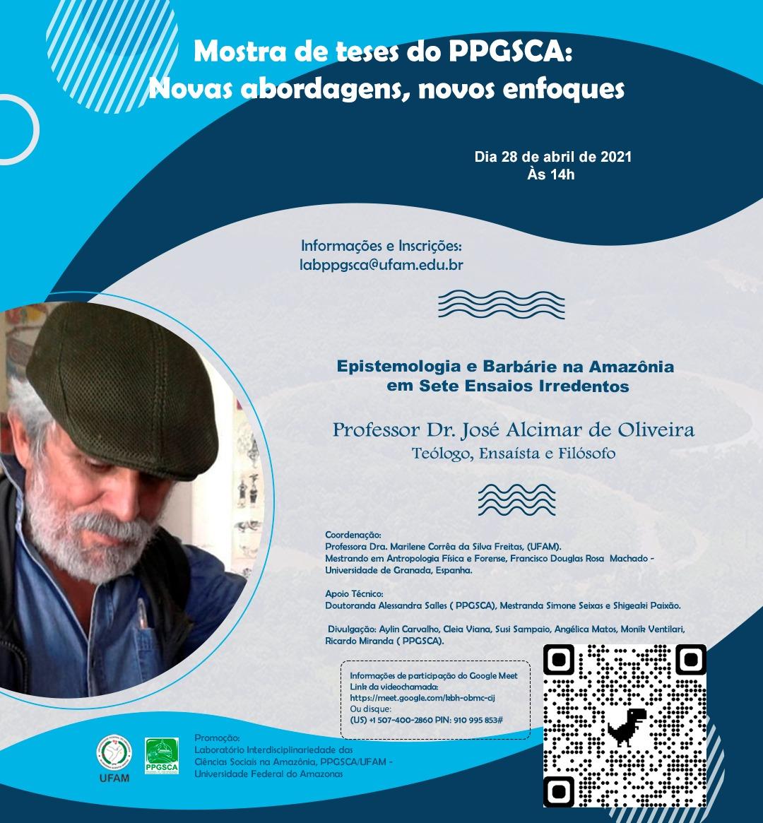 Mostra de teses do PPGSCA: novas abordagens, novos enfoques