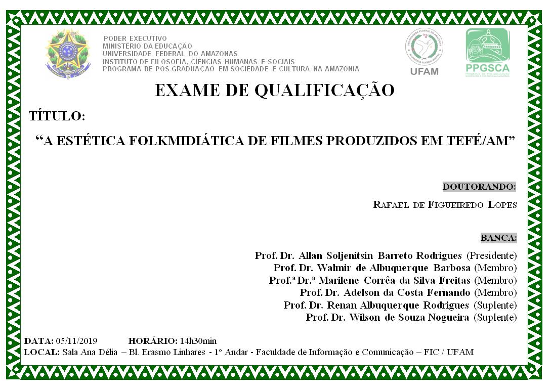 Qualificação Doutorado Rafael de Figueiredo Lopes